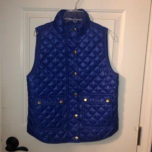 Blue Vest (J. Crew!)